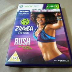 Joc Kinect Zumba Fitness Rush, xbox360, original, alte sute de jocuri! - Jocuri Xbox 360, Simulatoare, 12+, Multiplayer