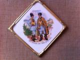Port popular valea gurghiului faianta tablou obiect decorativ folclor romanesc, Decorative