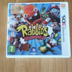 JOC NINTENDO 3DS RABBIDS RUMBLE ORIGINAL / by WADDER - Jocuri Nintendo 3DS, Arcade, 3+, Single player