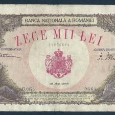 ROMANIA 10000 10.000 LEI 18 MAI 1945 [20] - Bancnota romaneasca