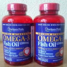 OMEGA 3 - 1200 mg ulei peste/600 mg omega 3 activa/capsula, cel mai mic pret - Supliment nutritiv