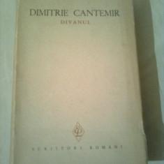 DIMITRIE CANTEMIR  ~ DIVANUL