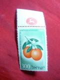 Serie Fructe 1956 Israel ,1 val., Nestampilat