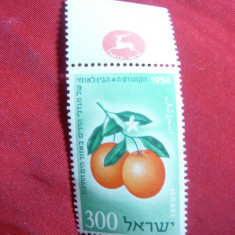 Serie Fructe 1956 Israel ,1 val.