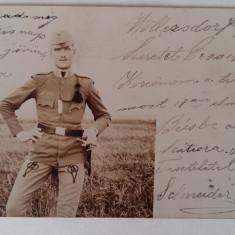 MILITAR AUSTRO - UNGARIA - ANUL 1902 - FOTOGRAFIE CARTE POSTALA CLASICA - Fotografie veche