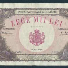 ROMANIA 10000 10.000  LEI   18  MAI   1945  [14]  VF