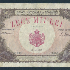 ROMANIA 10000 10.000  LEI   18  MAI   1945  [22]