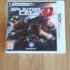 JOC NINTENDO 3DS TOM CLANCY's SPLINTER CELL 3D ORIGINAL / by WADDER - Jocuri Nintendo 3DS, Shooting, 16+, Single player