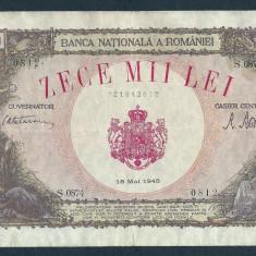 ROMANIA 10000 10.000  LEI   18  MAI   1945  [18]