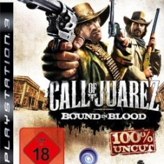 Vand Call of Juarez Bound in Blood- PS3 Ca NOU, Complet +*OFERTA :)* - Jocuri PS3 Sony, Shooting, 16+