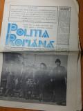 ziarul politia romana anul 1.nr.1 din 1 martie 1990