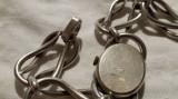 CEAS argint mecanic Elvetia EDMA de mana cu CUREA argint 800, Ornamentale