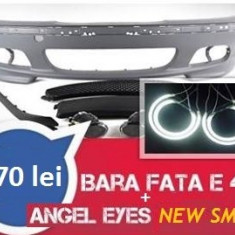 PRET PROMO ***Bara fata M-tech BMW seria 3 E46 + angel eyes NEW SMD - Bara Fata Tuning Diederichs, 3 (E46) - [1998 - 2005]