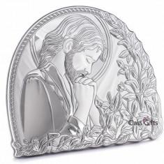 Icoana din Argint 925, Iisus Hristos, 11x9.5cm - Icoana din metal