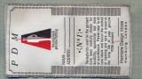308 -EMBLEMA MARE - PDM - THE ORIGINAL&GENUINE CLOTHINGT -starea care se vede