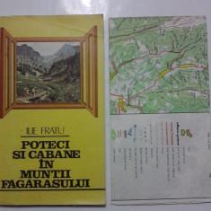 Poteci si cabane in Muntii Fagarasului / contine harta si fotografii / R2P3F - Ghid de calatorie