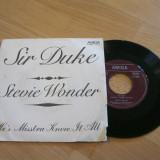 Stevie Wonder - Sir Duke (1977, Amiga) Disc vinil single 7