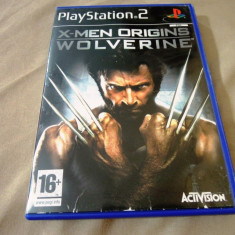 Joc X-Men Origins Wolverine, PS2, original, alte sute de jocuri! - Jocuri PS2 Activision, Actiune, 16+, Single player