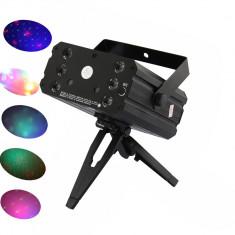 PROMO! LASER DISCO 3D ROSU+VERDE+GALBEN SI SCANNER LUMINI LEDURI SMD, NOU . - Laser lumini club