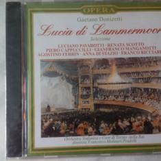 CD muzica clasica - LUCIA DI LAMMERMOOR: GAETANO DONIZETTI - Nou, sigilat