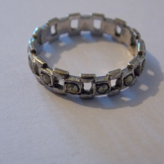 Inel argint marcasite - 214