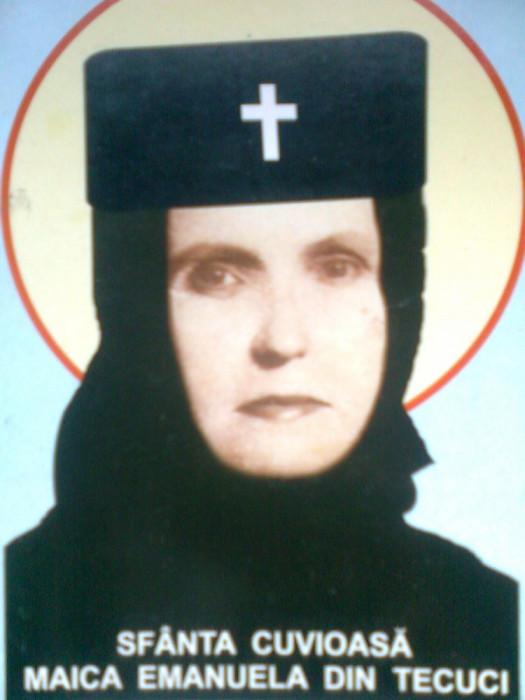 Maica Emanuela din Tecuci... Maica Veronica de la Vladimiresti (2010) foto mare