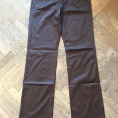 Pantaloni dama CLASS COUTURE, Marime: Alta, Culoare: Maro, Lungi, Vascoza