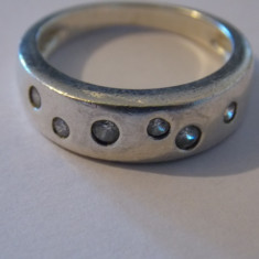 Inel argint zirconii - 267