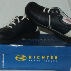 Pantofi copii RICHTER - nr 29 si 31, Culoare: Din imagine, Piele naturala