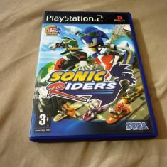 Joc Sonic Riders, PS2, original, alte sute de jocuri! - Jocuri PS2 Sega, Actiune, 3+, Single player