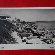 Carte Postala - Eforie - Plaja Grand - Carte Postala Banat dupa 1918, Circulata, Printata