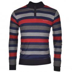 Bluza Pulover Barbati Pierre Cardin Zip Cardigan - marimea L, Marime: L, Culoare: Multicolor