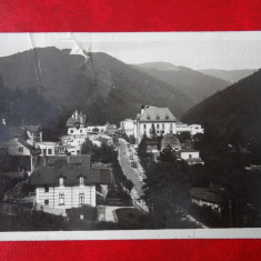 Carte Postala - Sinaia - deteriorat, Circulata, Printata