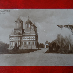 Carte Postala - Manastirea Curtea de Arges - Carte Postala Banat dupa 1918, Circulata, Printata