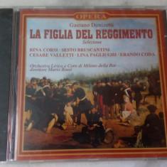 CD muzica clasica - LA FIGLIA DEL REGGIMENTO: GAETANO DONIZETTI - Nou, sigilat