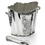 Frapiera si cleste pentru gheata argintate by Chinelli