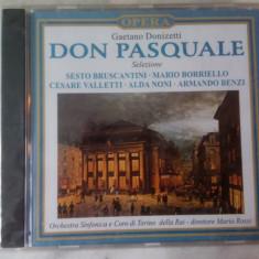 CD muzica clasica - DON PASQUALE: GAETANO DONIZETTI - Nou, sigilat