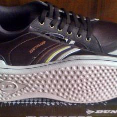 Pantofi Dunlop 41, 44EU -produs original- IN STOC - Pantofi barbat Dunlop, Culoare: Maro, Sport