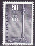 Jugoslavia 1965 - cat.nr.1012 neuzat,perfecta stare