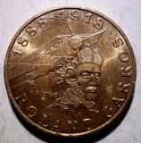 B.016 FRANTA ROLAND GARROS 10 FRANCS FRANCI 1988 XF, Europa, Bronz-Aluminiu