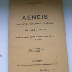 P.VERGILIUS MARO AENEIS TRADUCERE DIN FORME ORIGINALE DE GEORGE COSBUC EDITIA IV - Carte veche