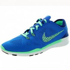 Nike Free 5.0, produs original - Adidasi dama Nike, Culoare: Albastru, Marime: 36, 36.5, 37.5, 38.5, 40, Textil
