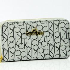 Portofel Calvin Klein CK + Cadou Surpriza - Portofel Dama Calvin Klein, Culoare: Din imagine