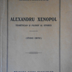 OCTAV BOTEZ--ALEXANDRU XENOPOL - 1928