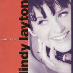 Lindy Layton - Wait For Love (1991, Arista) Disc vinil single 7