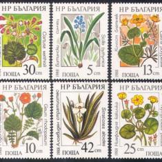 Bulgaria 1988 flori - serie nestampilata MNH - Timbre straine