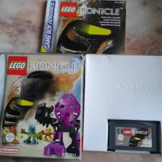 Vand jocuri, GAMEBOY ADVANCE, cutie, joc, manual, LEGO BIONICLE - Jocuri Game Boy Altele, Actiune, 3+, Single player