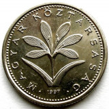UNGARIA , 2 FORINT 1997 , PLANT - the Hungarian crocus , 19mm., Europa, Crom