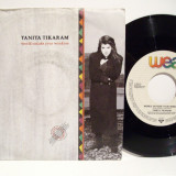 Tanita Tikaram - World Outside Your Window (1989, WEA) Disc vinil single 7