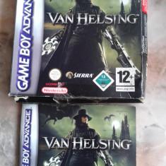 Vand pt GAMEBOY ADVANCE, cutie, manual, pt jocul VAN HELSING - Jocuri Game Boy Altele, Actiune, 18+, Single player